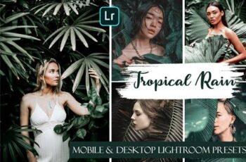 Tropical Rain Mobile & Desktop Presets - Summer ligthroom presets 3806896 2
