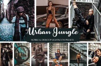 Urban Jungle Mobile & Desktop Presets Street ligthroom presets 3806897 1