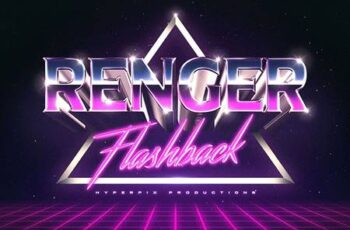 80s Text and Logo Effects Vol.3 3479338 13