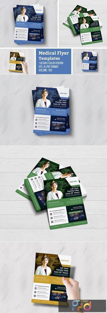 Modern Creative Medical Flyer 4964370 1