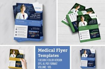 Modern Creative Medical Flyer 4964370 7