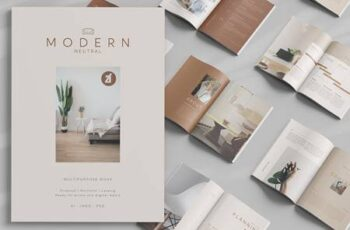 Modern neutral multi-purpose book 4981598 8