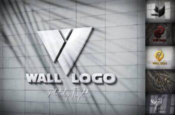 Wall Logo Sign Mockups 26496979 10