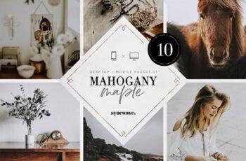 Mahogany & Maple Lightroom Presets 5251100 6