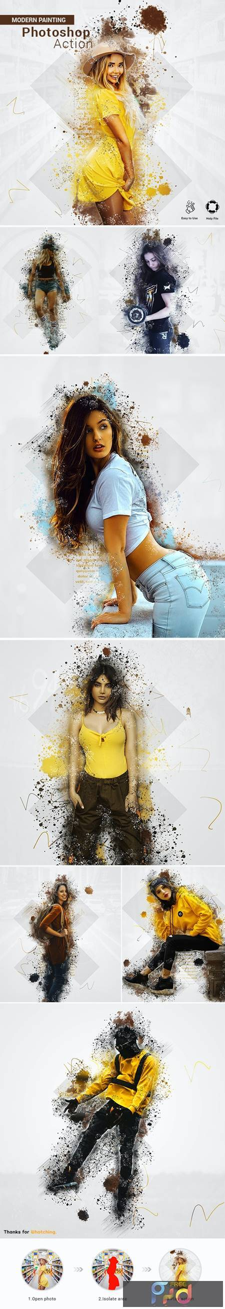 Painting Photoshop Action 27497079 1
