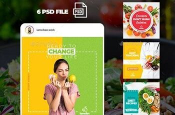 Diet - Instagram Post Template 26492343 4