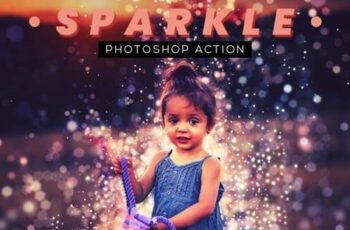 Sparkle Photoshop Action 26451786 3