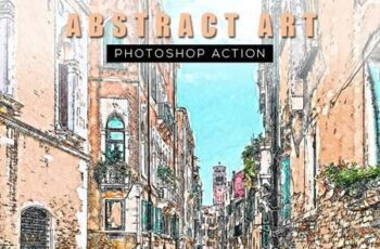 Abstract Art Photoshop Action 26571334 4