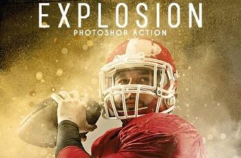 Explosion Photoshop Action 26570473 2