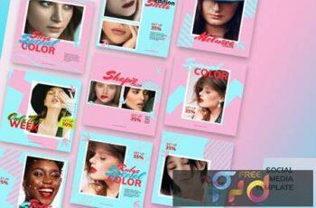 Cosmetic Social Media Kit RDSUYFX 5