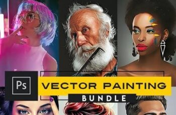 Vector Painting Photoshop Actions 27982210 8