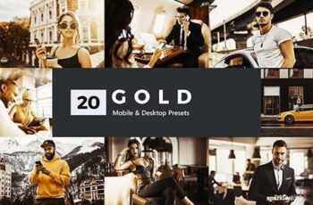 20 Gold Lightroom Presets and LUTs 27986347 8