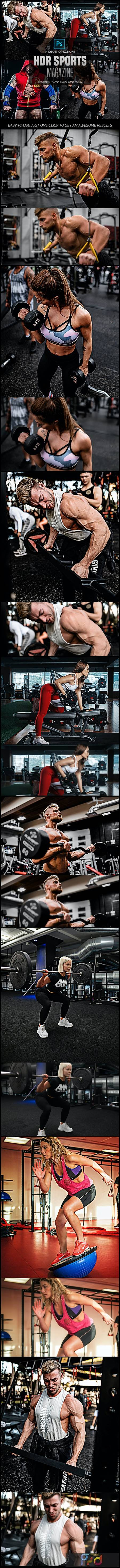 HDR Sports Magazine - Photoshop Actions 26577349 1