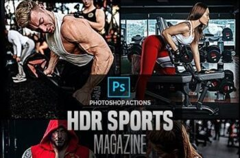 HDR Sports Magazine - Photoshop Actions 26577349 3
