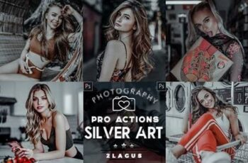 Silver - Modern Portrait Actions 26583400 7