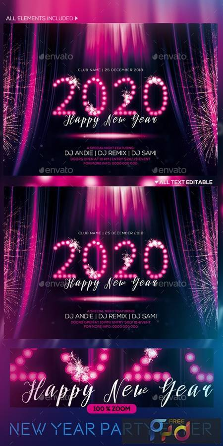 New year Party Flyer 22931759 1