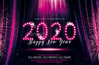 New year Party Flyer 22931759 6