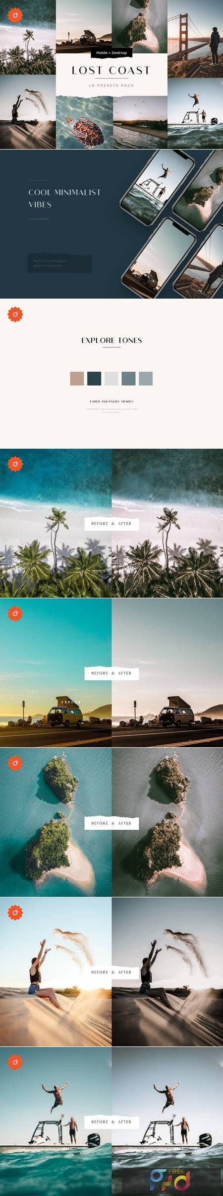 8 Faded Lightroom Presets Bundle 5187672 1