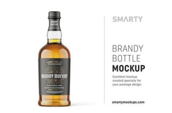 Brandy bottle mockup 4816173 5