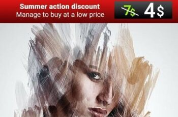 Abstract Smear Photoshop Action 27607459 9