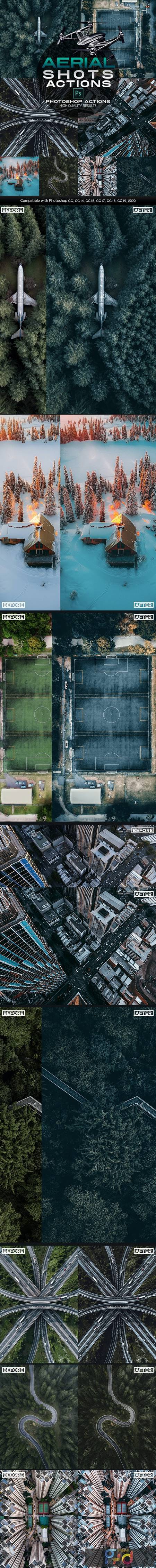 Aerial Shots Photoshop Actions Drone Shots Effects 26623763 1
