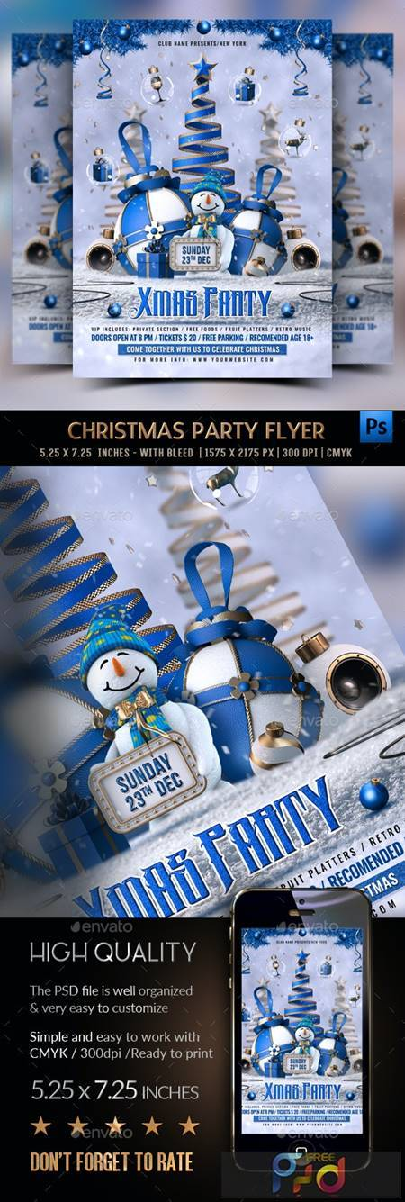 Christmas Party Flyer 22922851 1
