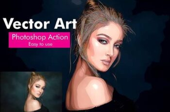 Vector Art Photoshop Action 4938279 3