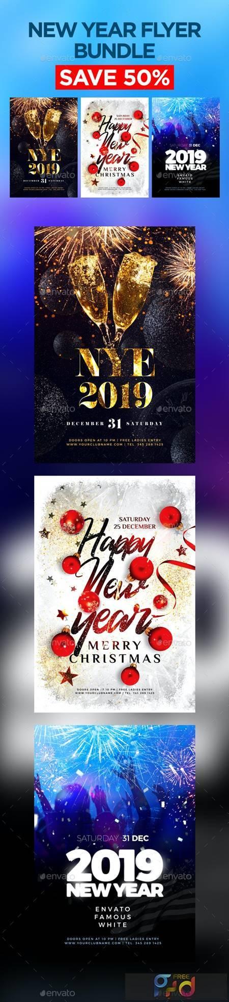 New Year Flyer Bundle 22930630 1