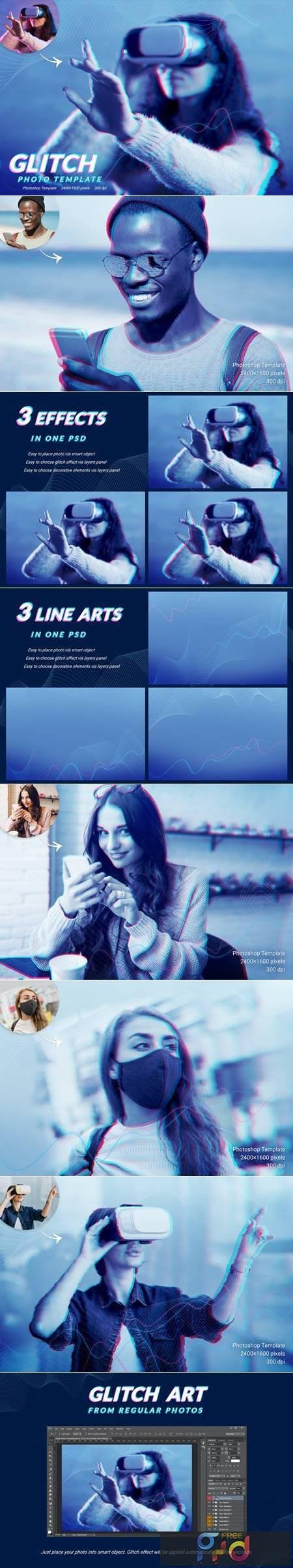 Glitch Photo Template KSGX2TT 1