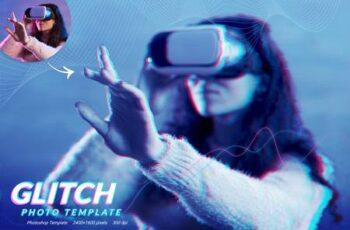 Glitch Photo Template KSGX2TT 16