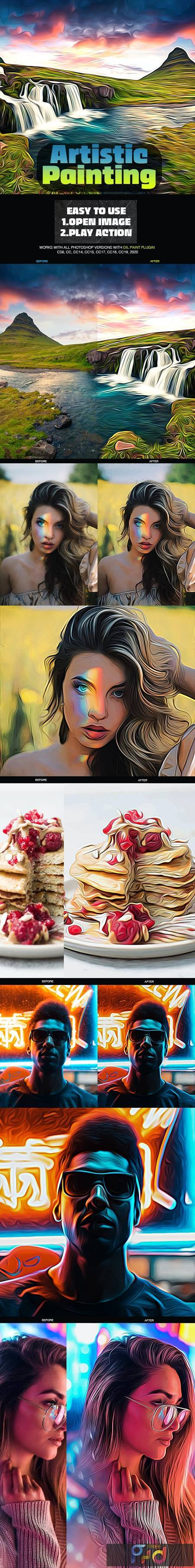 Artistic Painting Photoshop Action 26590064 1