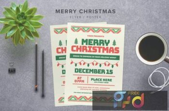Merry Christmas Flyer FTZ6CB 5