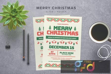 Merry Christmas Flyer FTZ6CB 1