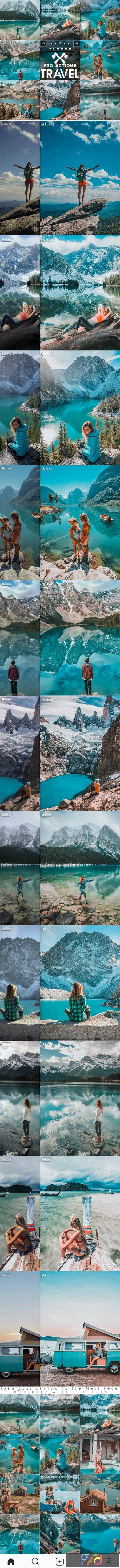 Travel Blogger Photoshop Actions 26629536 1