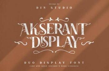 Akserant Display Font 5200711 10