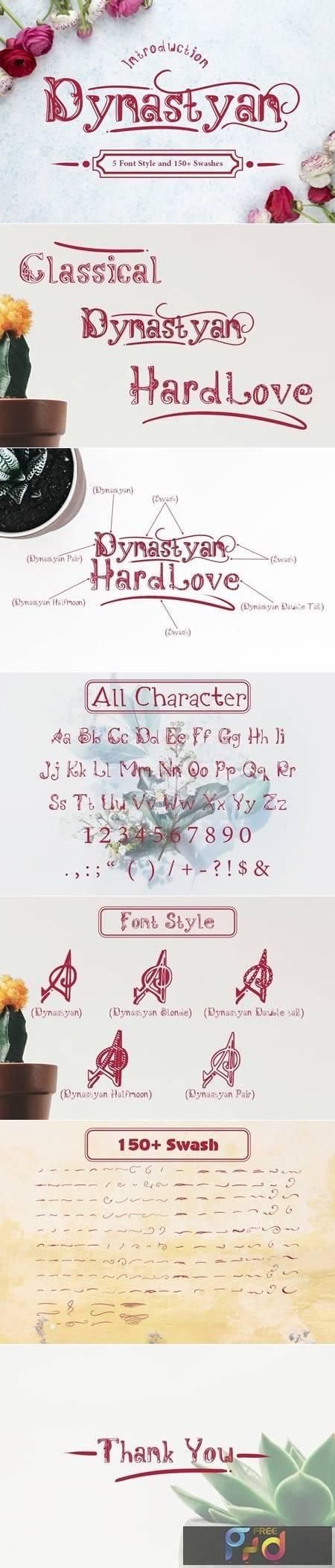 Dynastyan - 5 Font styles 5116330 1