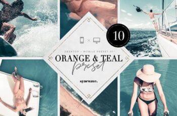 Orange & Teal Lightroom Presets 5251801 5