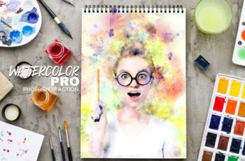 Watercolor Pro Photoshop Action 5070973 15