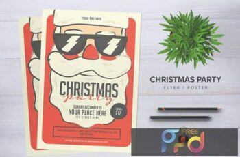 Christmas Party Flyer MAWS34 5