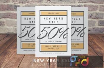 New Year Sale Flyer PY22KG 4