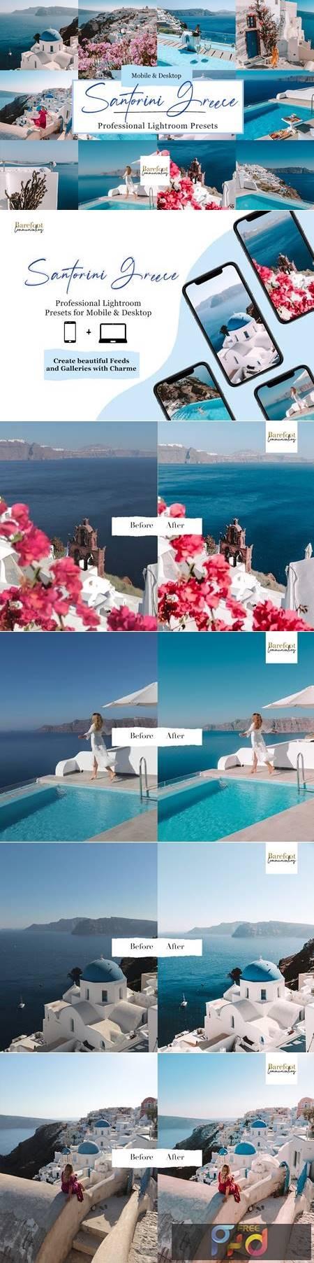 Santorini Blue Lightroom Presets 5254839 1