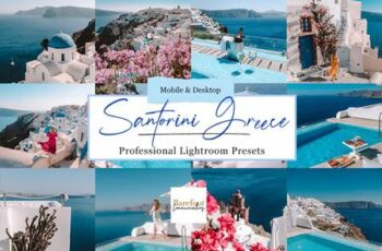 Santorini Blue Lightroom Presets 5254839 3