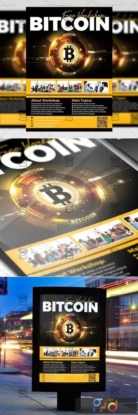 Bitcoin Workshop Flyer - Business A5 Template 19587 1
