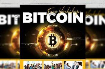 Bitcoin Workshop Flyer - Business A5 Template 19587 6
