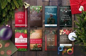 Christmas Instagram Story Template 874GEF 13