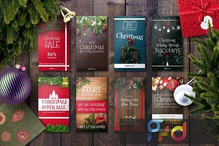 Christmas Instagram Story Template 874GEF 1