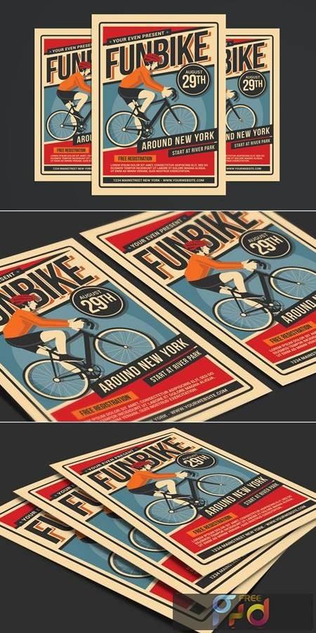 Bicycle Event Flyer JQQUBNN 1