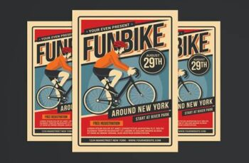 Bicycle Event Flyer JQQUBNN 7