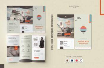 Fashion Store Trifold Brochure MN2KS27 3