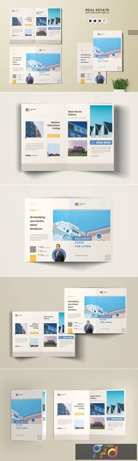 Real Estate Bi-Fold Brochure ZXNG2JE 1